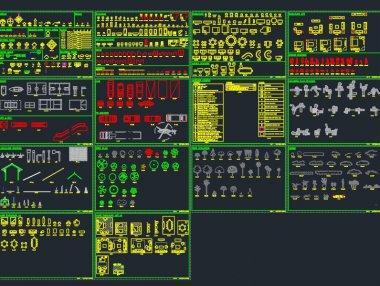 CAD室内外设计图库大全下载