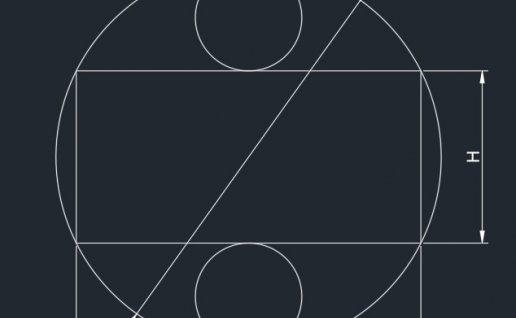 cad常见二维练习题视频讲解(4)