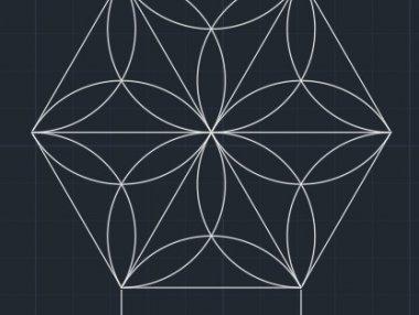 cad常见二维练习题视频讲解(9)